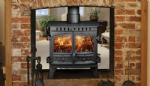 Hunter Herald 8 Double Sided Stove 8-13kw